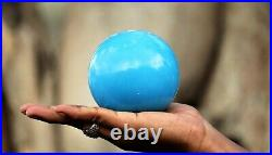 100 MM Blue Turquoise Crystal Stone Healing Reiki Metaphysical Power Sphere Ball