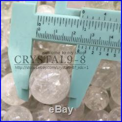 11lb About Lot of 260-280pcs Small Natural Clear Quartz Crystal Sphere Ball