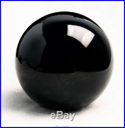 160mm Natural Black Obsidian Sphere Large Crystal Ball Healing Stone + Stand
