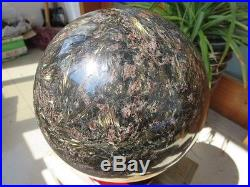 18740g Natural Astrophyllite Quartz crystal Sphere Ball Healing China W450