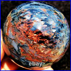 2.15230g WOW Natural Boutique Fire Flash PIETERSITE CRYSTAL Sphere Ball ie0431