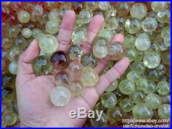 2.2lb Wholesale Natural Smoky Citrine QUARTZ Crystal Sphere Ball Healing