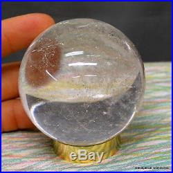 2.70 Amazing Clear Quartz Crystal Sphere Ball From Madagascar, Clq75