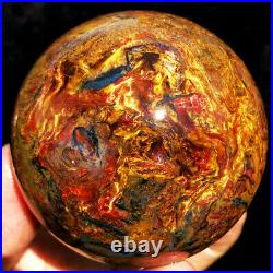 2.80491g WOW! Natural Boutique Fire Flash PIETERSITE CRYSTAL Sphere Ball ip1772