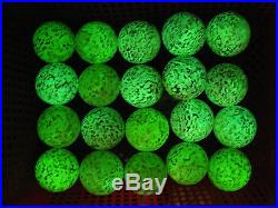 20 Glow In The Dark Stone crystal sphere ball