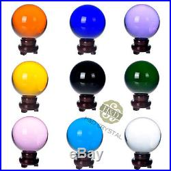 200mm Huge Asian Rare Quartz Clear Magic Crystal Healing Ball Sphere Stand Gifts