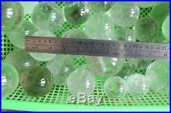 22LB Natural Clear Raainbow Quartz Crystal Sphere Balls Healing Wholesales Price