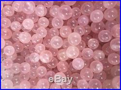 22lb wholesale Natural Mozambique ICY Rose Quartz Crystal Sphere Ball Healing