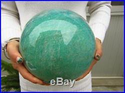 26.08lb RARE HUGE NATURAL Amazonite quartz crystal sphere ball healing