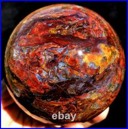 3.53971g WOW! Natural Boutique Fire Flash PIETERSITE CRYSTAL Sphere Ball ip1768