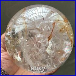 5.18 lb Natural Transparent Quartz Crystal Ball Gem Mineral Sphere Healing