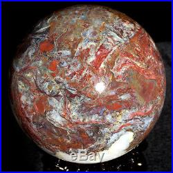 5.263075g WOW! Natural Rare PIETERSITE CRYSTAL Sphere Ball Healing ic3000