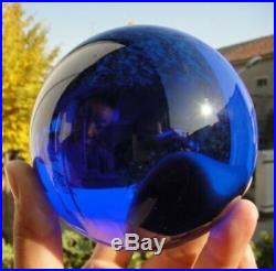 50-120mm Natural Blue Obsidian Sphere Large Crystal Ball Healing Stone