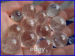 5000g 11lb 100% AAA+++ Natural Clear Quartz Crystal Sphere Ball China 15-18mm