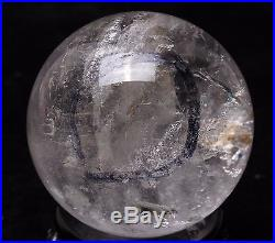 50mm Natural Free mobile water bubble Enhydro quartz crystal sphere ball