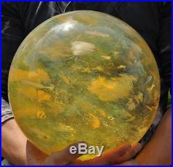 54.8lb crystal Cherry citrine pretty sphere BALL (10.3inch) Christmas gift