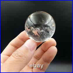 96g 41mm Have 2 moving water bubbles Enhydro Natural quartz crystal Sphere ball