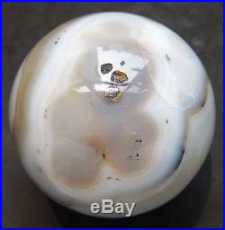 A++ RARE 68mm Natural Agate CRYSTAL SPHERE BALL