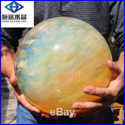 AAAA++22790g crystal Cherry CITRINE pretty sphere BALL