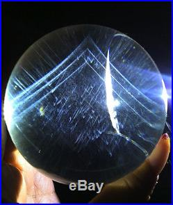 Angel wings rutilated pyramid all contain natural quartz crystal sphere ball