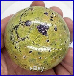 Atlantisite polished crystal sphere ball 58mm reiki healing crystals Ref N. AT2