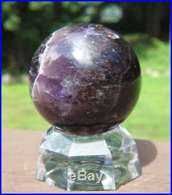 Auralite-23 Crystal Ball / Sphere with Stand