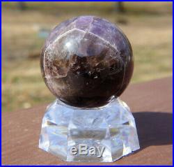 Auralite 23 Sphere / Crystal Ball with Stand