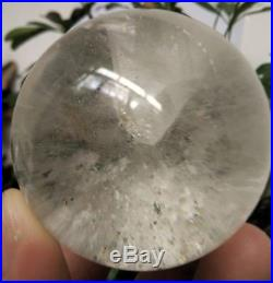 BEST Rare NATURAL stone inside Stone quartz crystal sphere ball healing