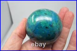 Chrysocolla Crystal Sphere AA Ball Bright Blue Healing Natural polished Congo
