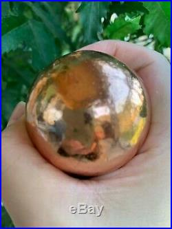 Extra Large Copper Balls Spheres 50mm, Healing Stones, Healing Crystal