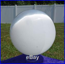 GIANT PURE White GLOWING Selenite Satin Spar Crystal Sphere Ball