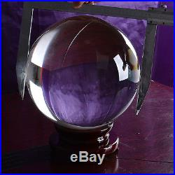 Huge Crystal Ball 300MM Sphere Photography Props Table Decoration Centerpieces
