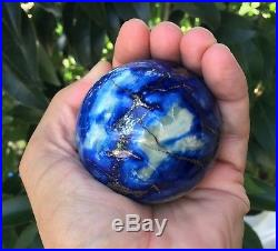 Lapis Lazuli Sphere/Ball 65mm, 411 grams Crystal/Mineral + Free Stand