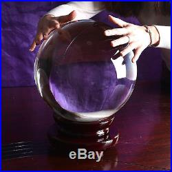 Large 250mm Quartz Crystal Ball Sphere Wedding Centerpieces Home Decorations