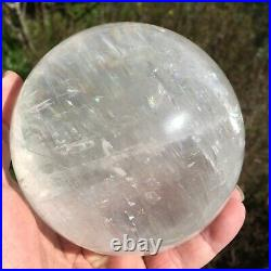Large Clear Calcite Sphere Crystal Ball 2.2 Kg