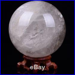 Large Natural Crystal Ball Sphere Healing Polished Quartz Collectibles 3.4lb