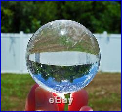 Our Finest Ever Water Clear Quartz Crystal Sphere Ball Absolutely Spectacular