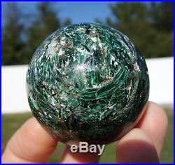 RARE Green Kyanite in Fuchsite with EMERALD & Red Rubies CRYSTAL Sphere Ball