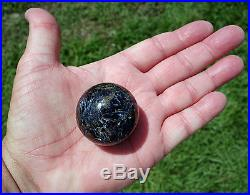 Rare Awesome Blue PIETERSITE Crystal Sphere PETERSITE Ball Hard to Find