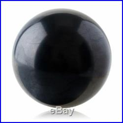 SHUNGITE POLISHED CRYSTAL SPHERE BALL RUSSIA 150 mm/5,9 in