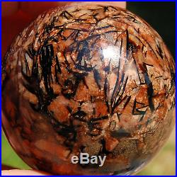 SPHEREFACTOR Gorgeous Russian Astrophylite ASTROPHYLLITE Crystal Ball Sphere