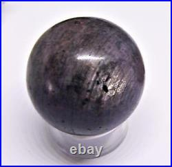 STAR RUBY CRYSTAL SPHERE BALL 33mm 387.5cts RARE NATURAL UNTREATED SPECIMEN