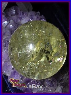 Spirits Speak Sphere for the Answers U Need! Crystal Ball Orb Paranormal haunted